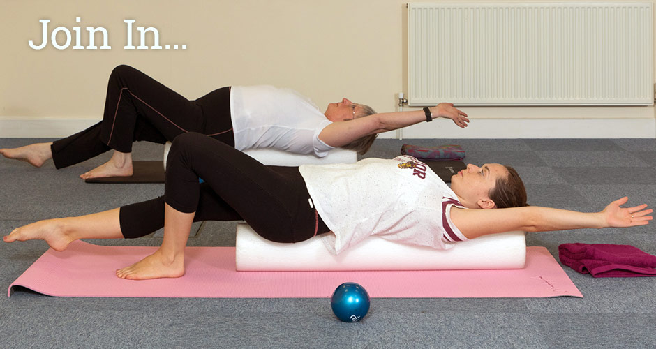 Join in group Pilates classes in Norwich