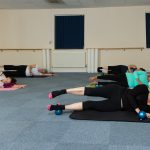 Pilates Leg Exercises with Weighted Balls